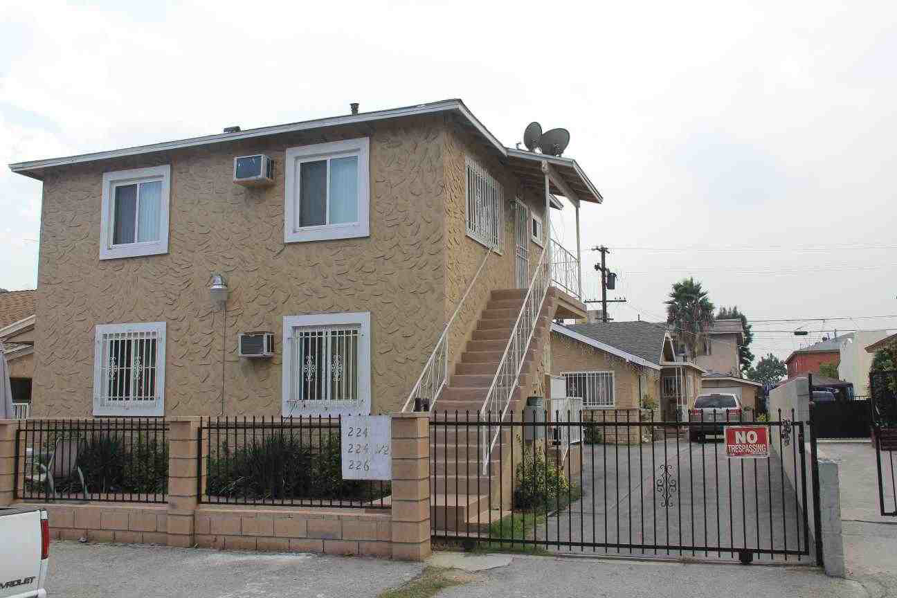 los angeles house duplex for sale